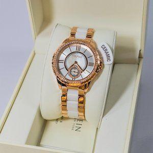 Anne Klein Women's Rose Gold Ceramic Watch